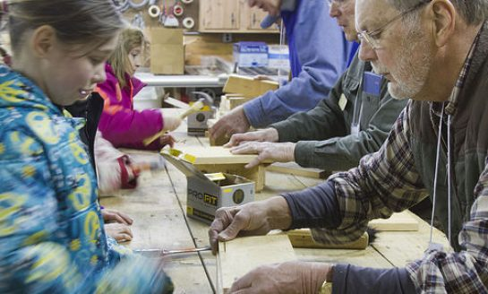 Build a Bird Feeder at Audubon on Father's Day