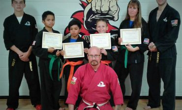 The Family Martial Arts Center Sept. 20 Belt Advancements