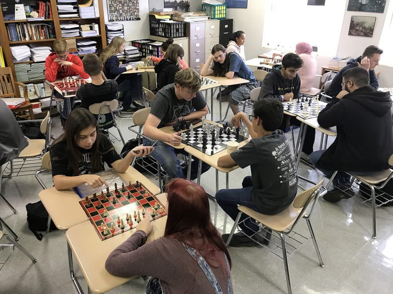 Overwhelming Enthusiasm for JHS After School Chess Club