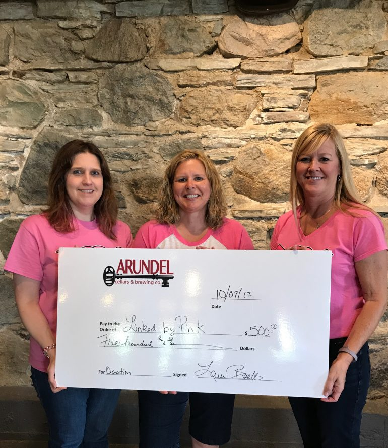 Uncork a Cure for Breast Cancer at Arundel Cellars & Brewing Co.