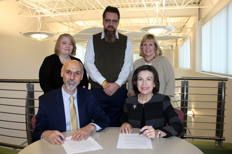 JCC, Allegheny College Sign Transfer Agreement