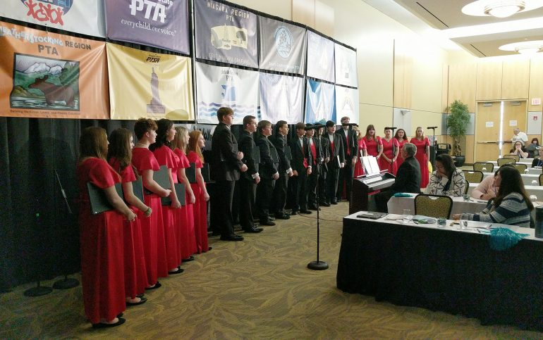 JHS Madrigal Singers Performed at the NYS PTA Conference