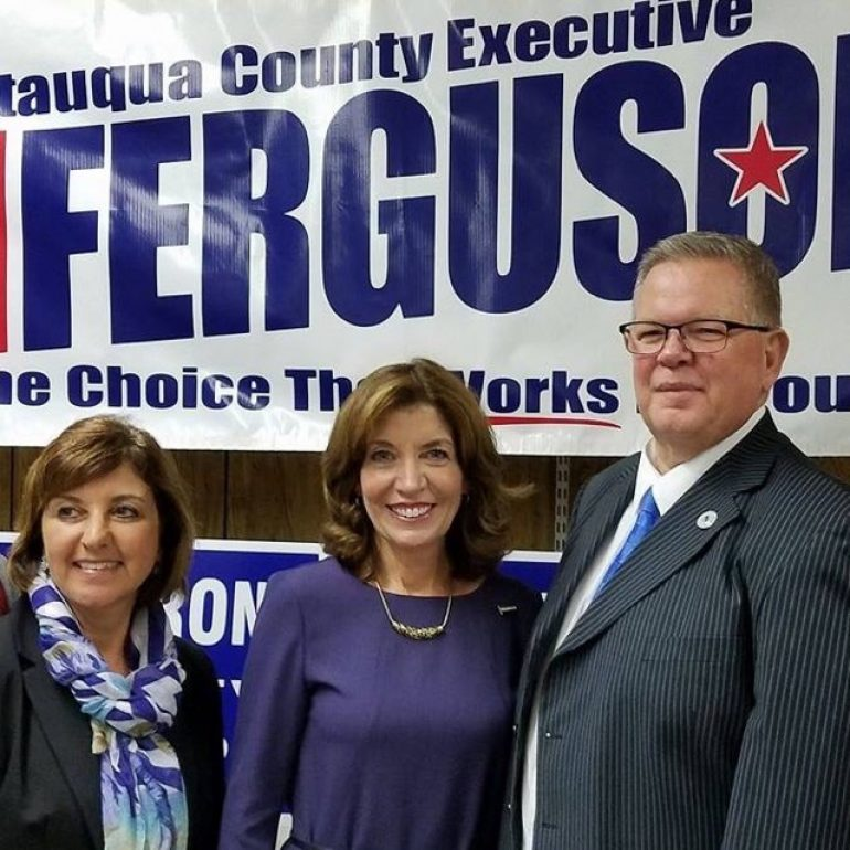 Hochul Endorses Ferguson for County Executive, Lazarony for Clerk