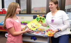 Local Girl Gives to UPMC Chautauqua WCA Pediatrics Hoping to Make a Child Smile