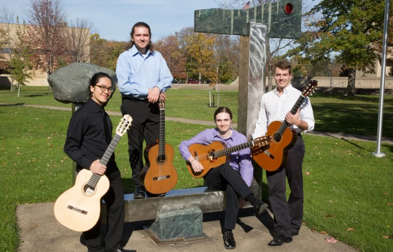 Fredonia Guitar Quartet to perform at schools in central New York
