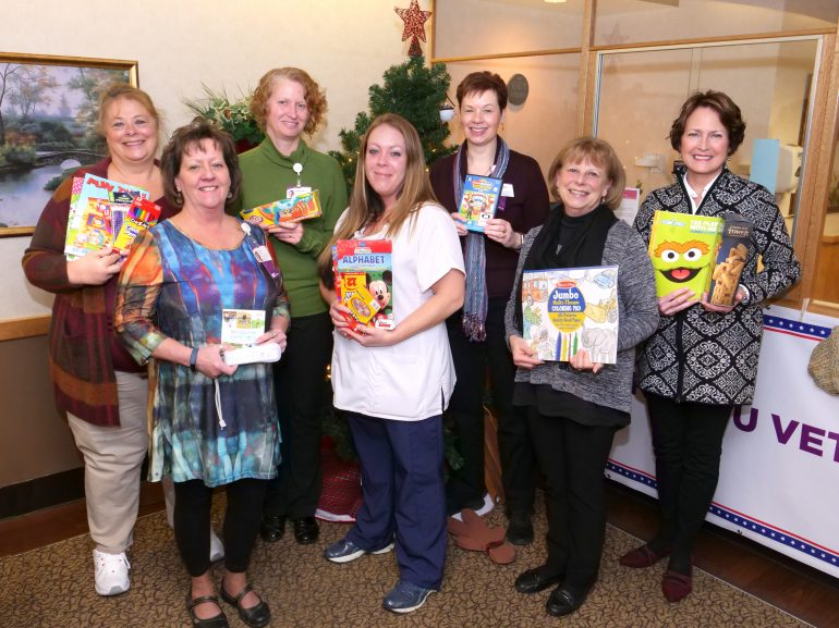 Crèche's Compassionate Giving Supports Seven Departments at UPMC Chautauqua WCA