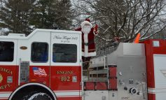 Santa Arrives in Cassadaga Village