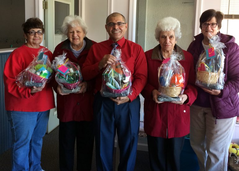 St. Columban's on the Lake Delivers Relief Baskets to local Hurricane Maria Survivors