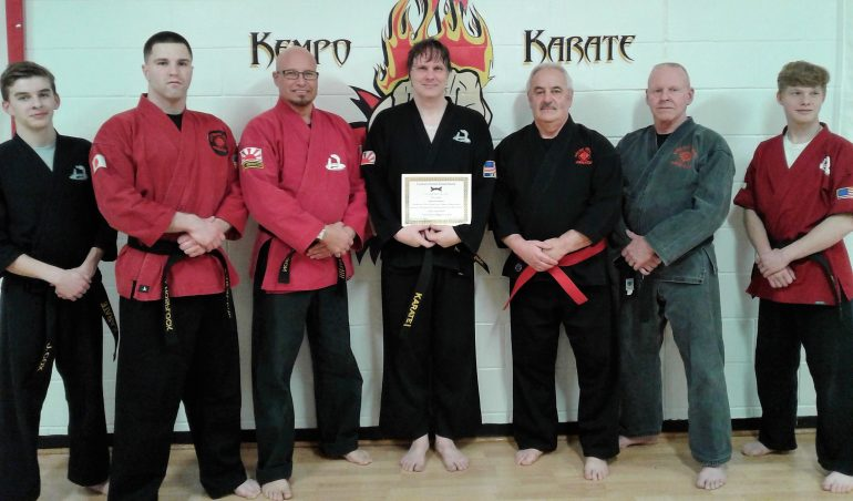 Black Belt Advancement Ceremony