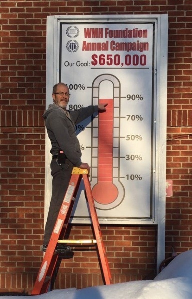 WMH Foundation's Rising Thermometer