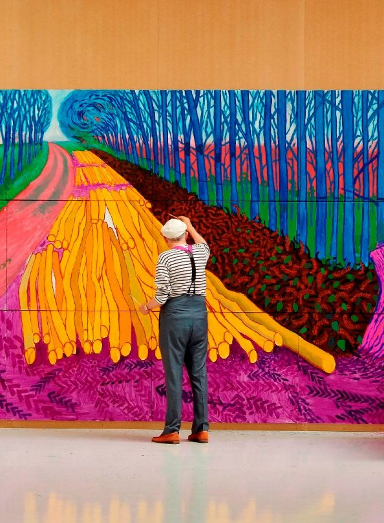 Opera House Presents <em>David Hockney at the Royal Academy of Art</em>;  Program to Feature Profile of Local Artist