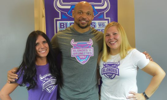 Buffalo Bill Joins Women's Flag Football Fundraiser: RivAlz Blondes vs. Brunettes supports Alzheimer's Association WNY