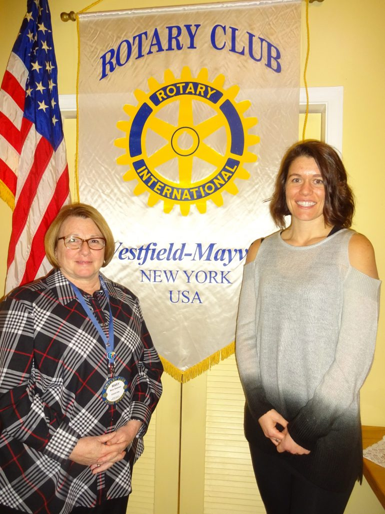 Sherman school principal explains impact of poverty  on students at Feb. 6 Westfield-Mayville Rotary Club session