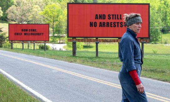 "Opera House Cinema Series to Screen Oscar-Nominated ""Three Billboards Outside Ebbing, Missouri""; Screening Offers Yoga & Movie"