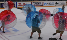 Bubbleball Hockey Returns to Jamestown