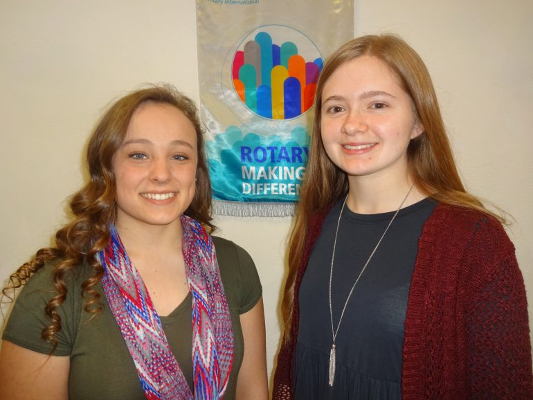 March Scholars of the Month honored by Westfield-Mayville Rotary Club