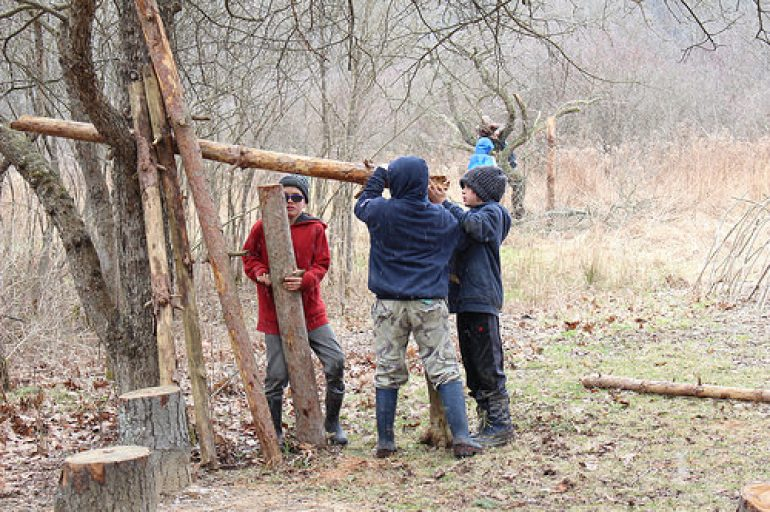 Next Audubon Nature Play Day is Sunday, March 18