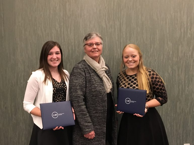 JCC Students Receive SUNY Chancellor's Award