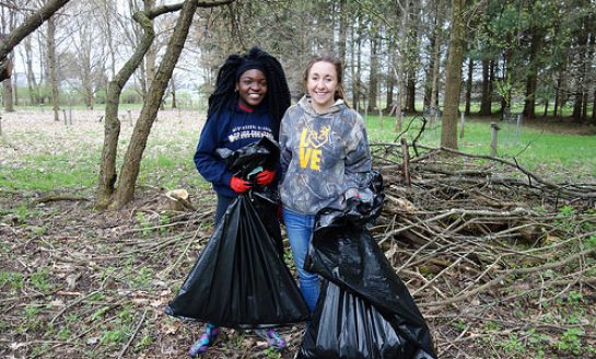 Join Audubon Community Nature Center Volunteer Day Saturday, April 21