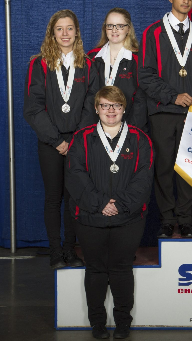 Erie 2-Chautauqua-Cattaraugus BOCES Students Win at New York State SkillsUSA Conference