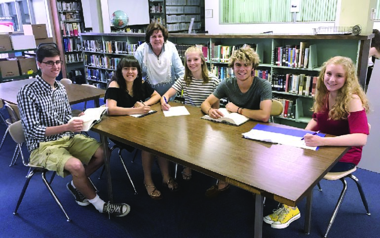 JHS Students Chosen to Participate in Young Writers Institute at Chautauqua Institution