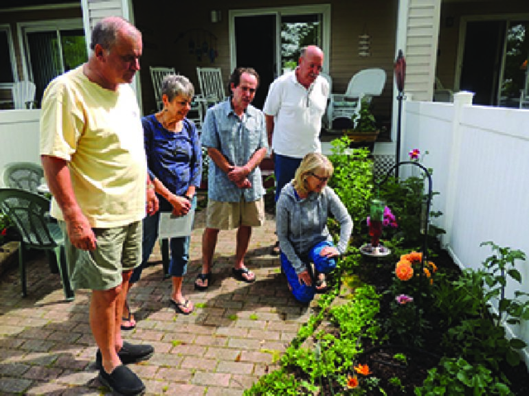 Maple Springs Garden Walk features Porches and Posies